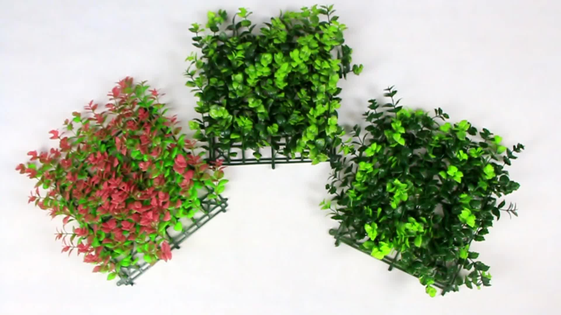 Designer home decor anti-uv artificial green fence for outdoor use