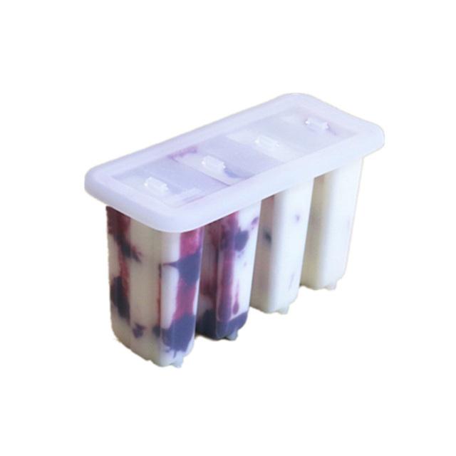 雪糕模具带盖冰棒模自制冰淇淋磨具家用冰块做冰棍盒冰糕包邮