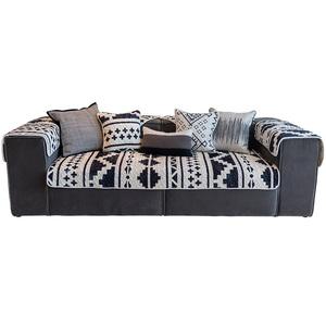 莫耐河helsinki黑白简约现代沙发垫