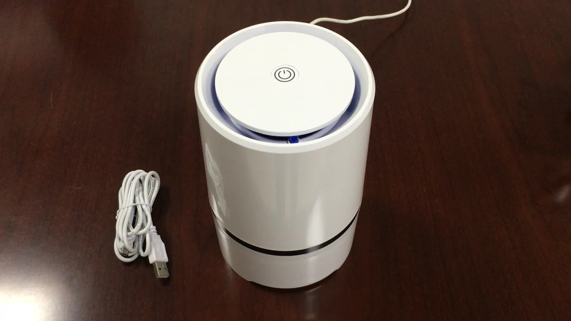new USB desk negative ion air purifier with aroma function welcome OEM