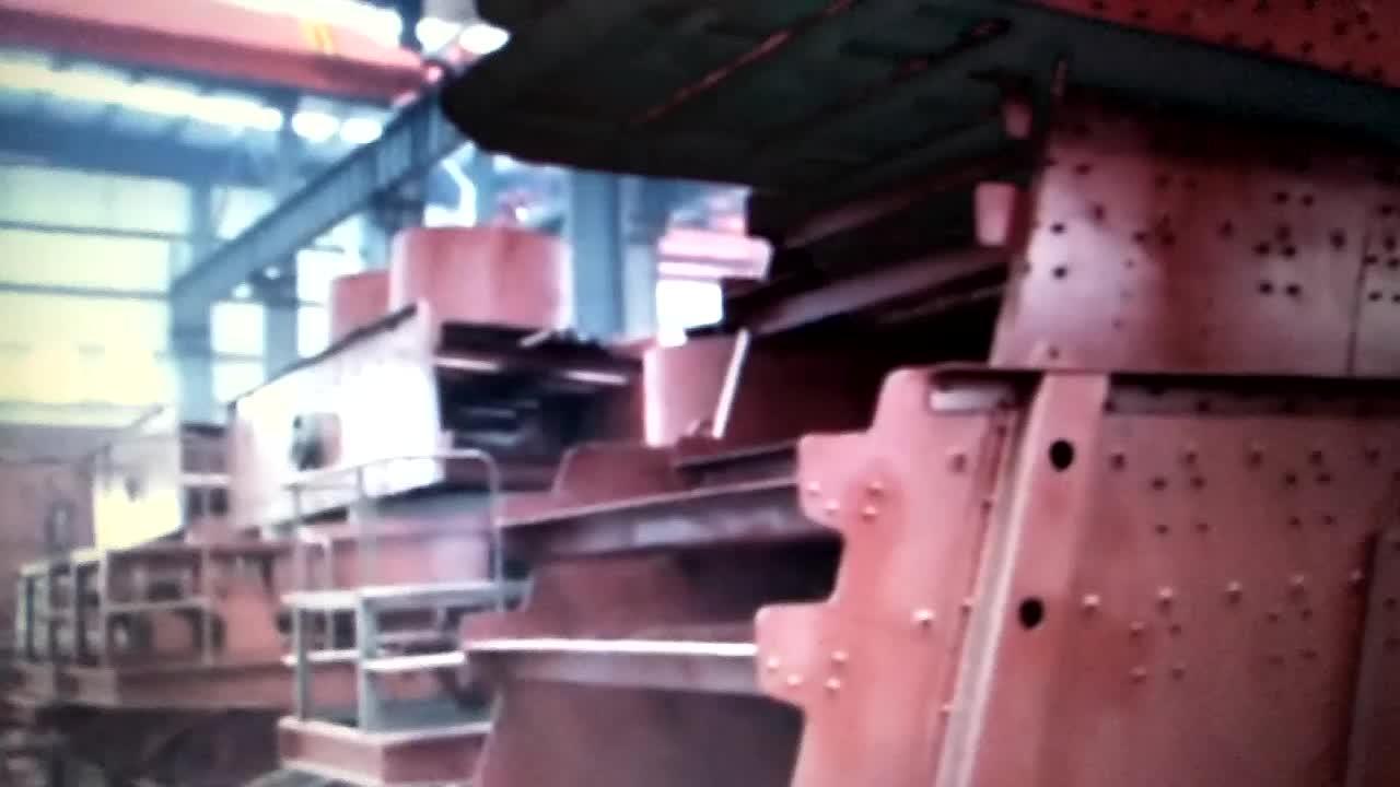 YA/YK Serie Mining Maschine Rüttelsieb Für Kohlebergwerk