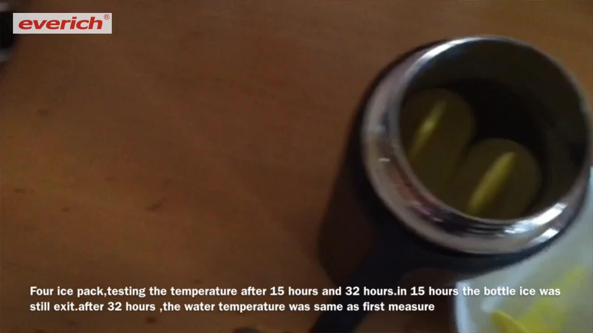 De alta calidad de doble pared/128/64 oz botella de agua vacía botella de agua mineral de acero inoxidable botella de cerveza enfriador