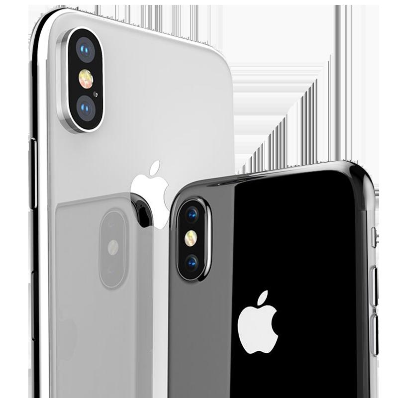 倍思苹果X手机壳iPhone XS Max硅胶XSMax新款超薄iPhoneX透明iPhoneXS全包防摔套8X潮牌外壳XMax女男网红软壳