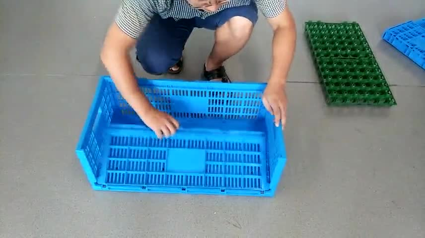 Top Quality Foldable Plastic Egg Crate For Wholesale
