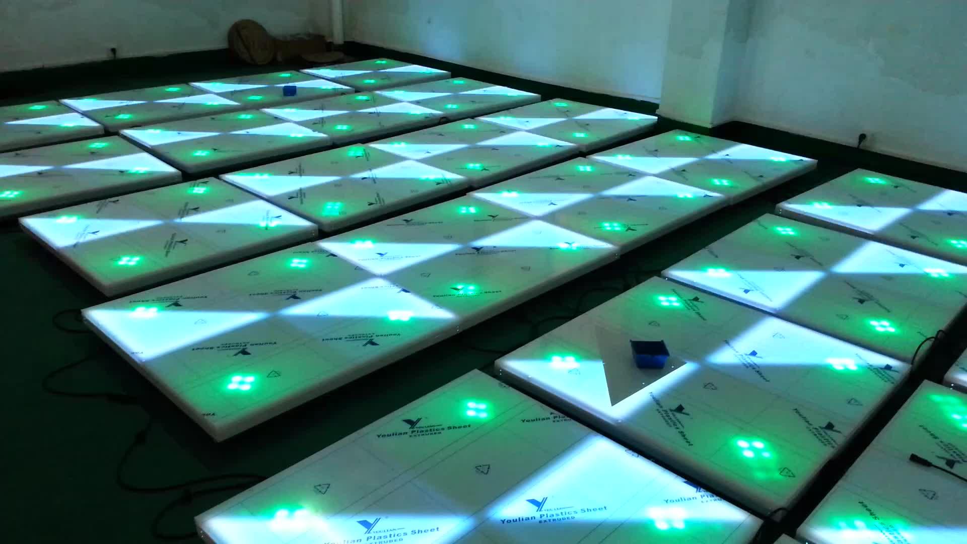 Led Dance Floor Lighted Disco Floor Lights Tiles Rgb Illuminating