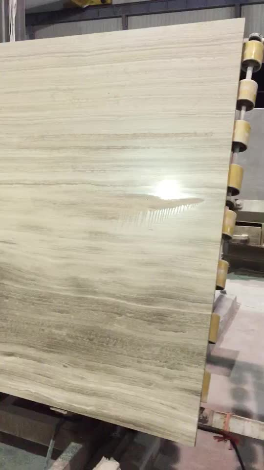 Italian High Quality Silver Grey Travertine Marble Slab