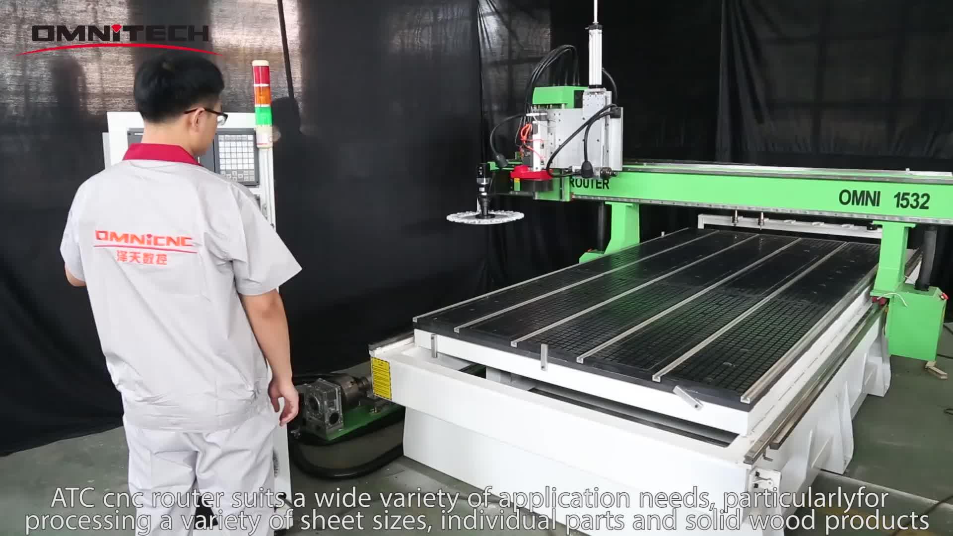 Sofa Making Machine OMNI ATC CNC router machine1530