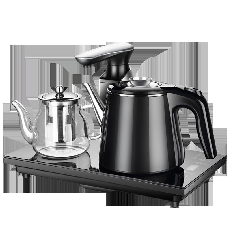 TCL全自动上水壶电热烧水壶保温一体家用泡茶专用茶台具抽水套装