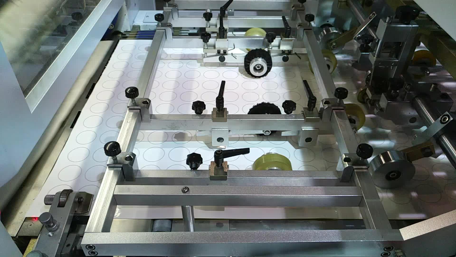 Completamente Automatico Macchina Di Fustellatura LK60