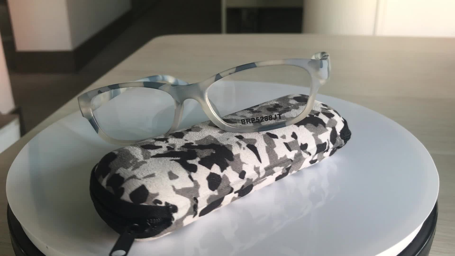 Brightlook custom logo foldable AC lens pocket reading glasses