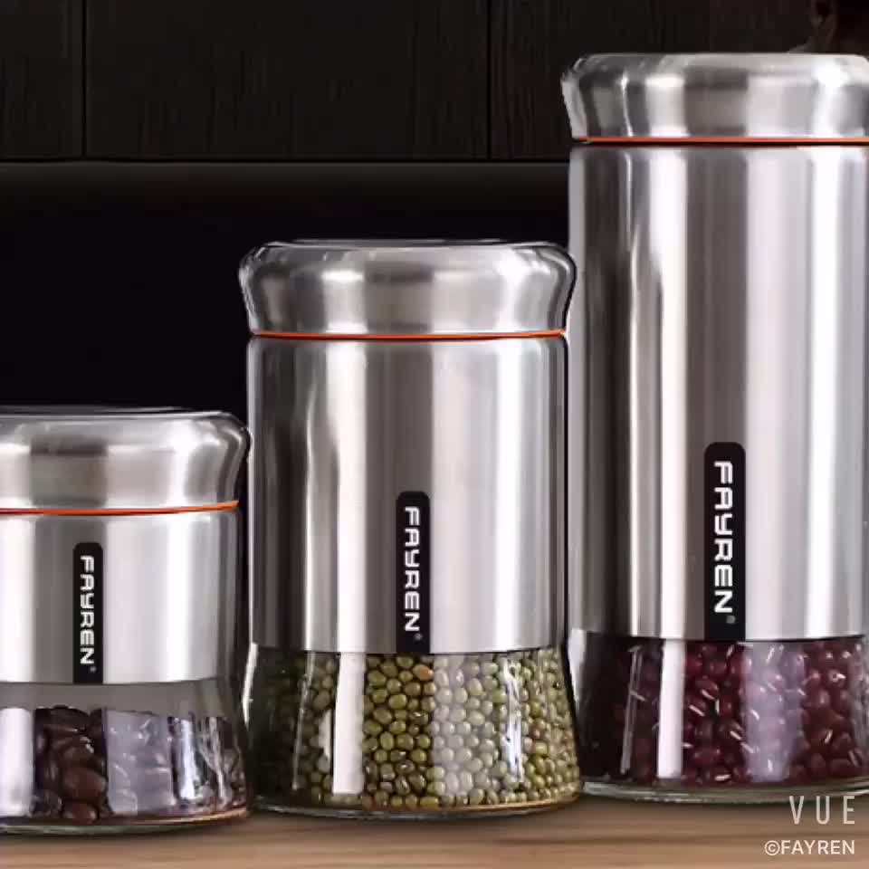 Stainless Steel Canisters Wholesale
