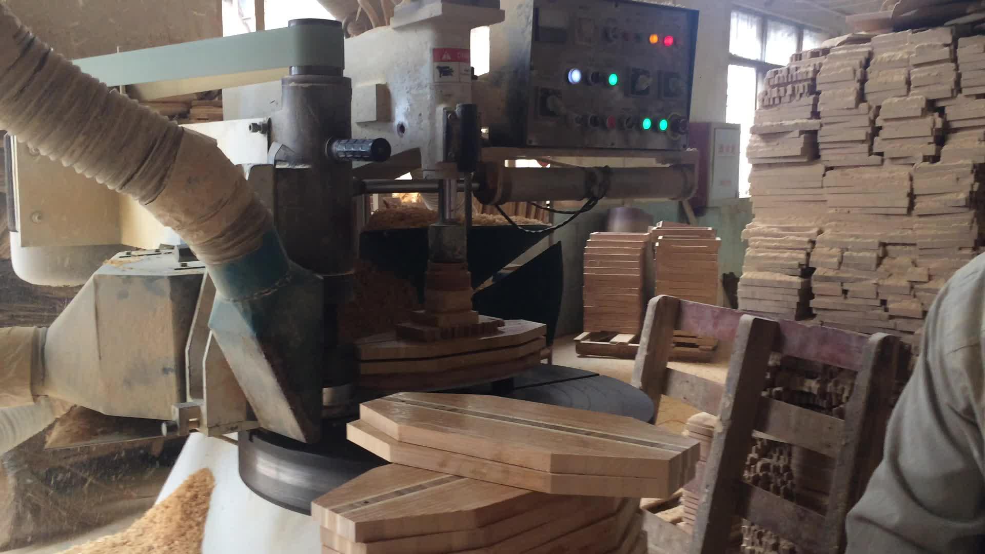 Organische schneidebrett bambus mit schublade