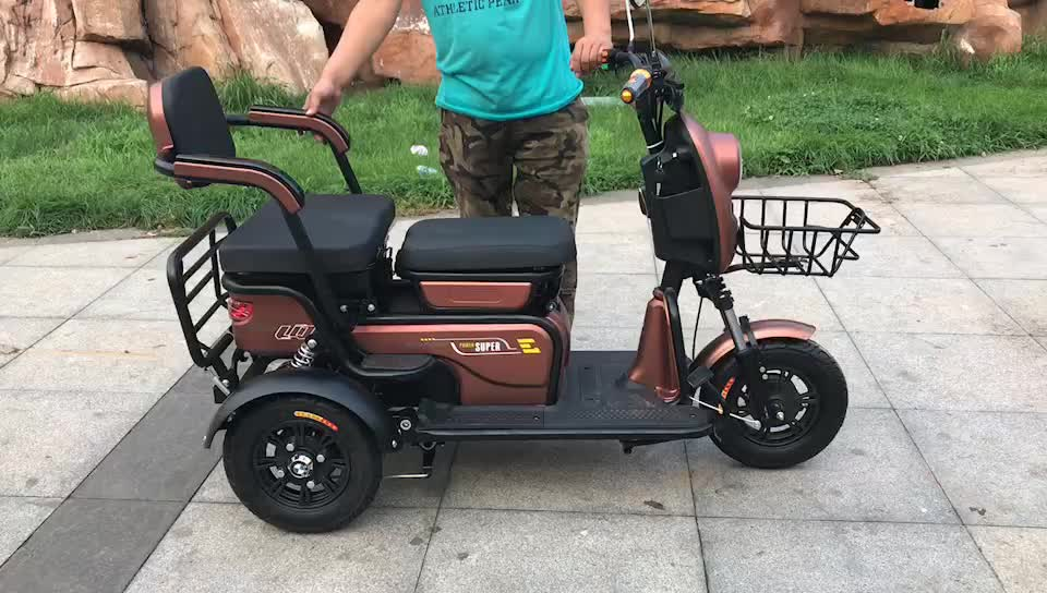 cheap electric motor tricycle for passenger/three wheel electric passenger bicycle