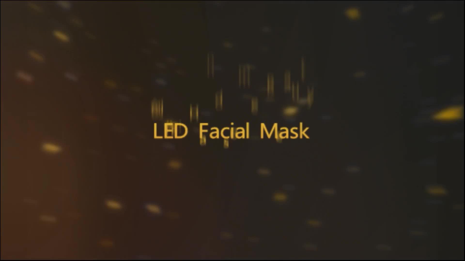 Fotone Terapia Della Luce ringiovanimento Della Pelle 7 Colori Led Maschera Per Il Viso