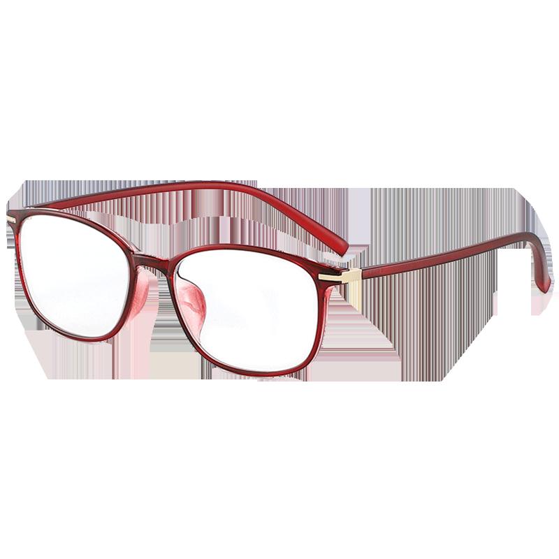 平光女款全框户外潮变色电脑防蓝光辐射紫外线护目太阳镜近视眼镜