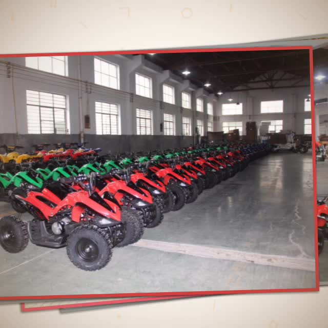 2015 500w 36v 4 wheel cheap electric mini kids' atv quad for sale with CE ceritifcate hot on sale
