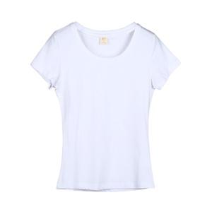 夏季纯棉短袖2021新款白色修身t恤
