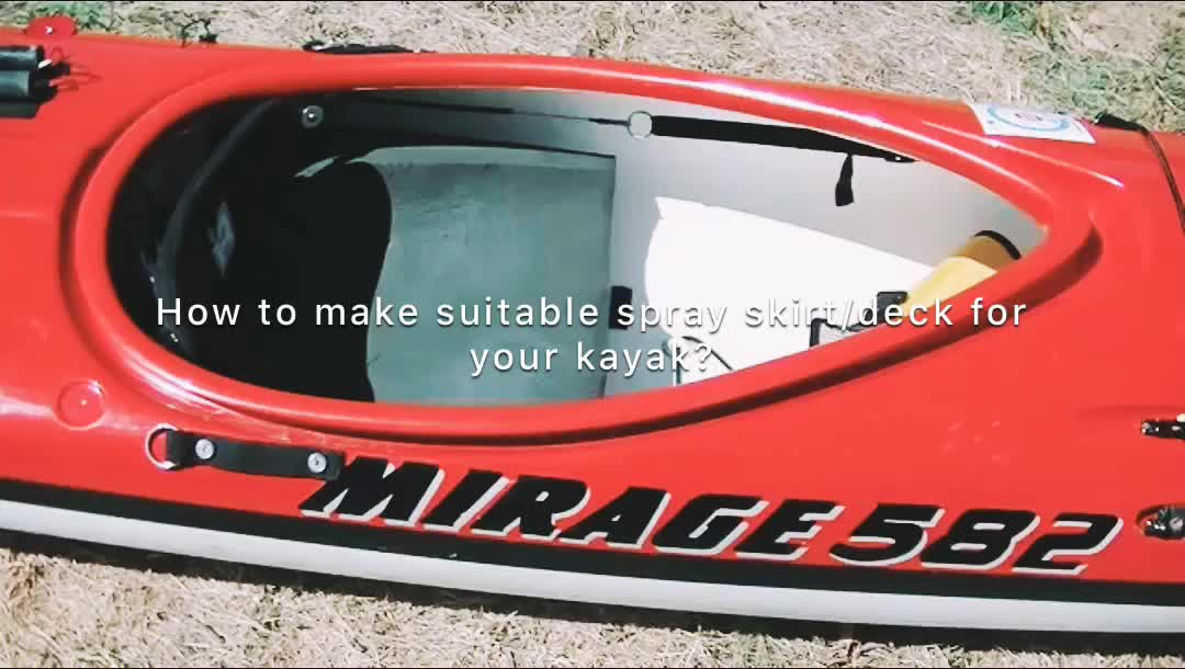 High quality Super Stretch kayak Neoprene Cockpit Cover