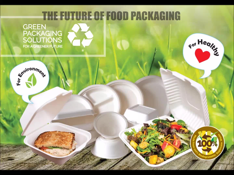 SUGARCANE LUNCH BOX FOOD STORAGE