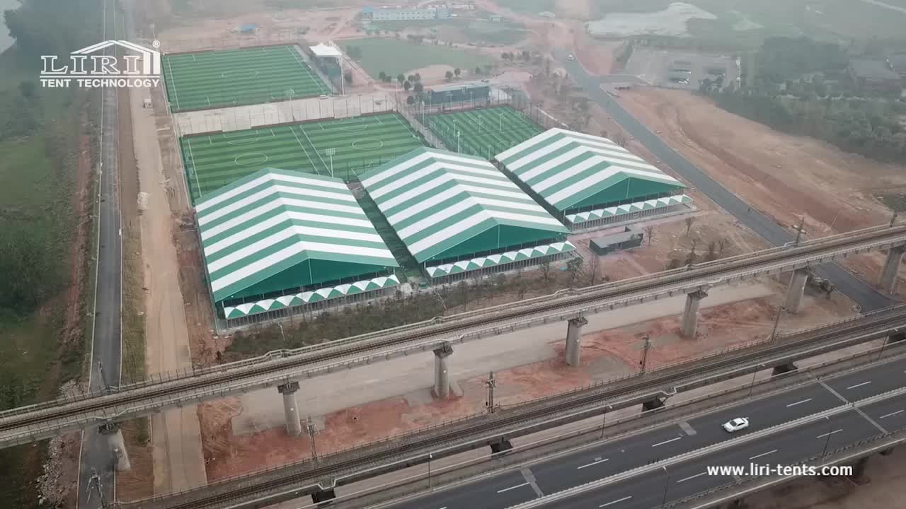 Temporary or Semi-permanent Football Sport Event Pitch Tent for Sale