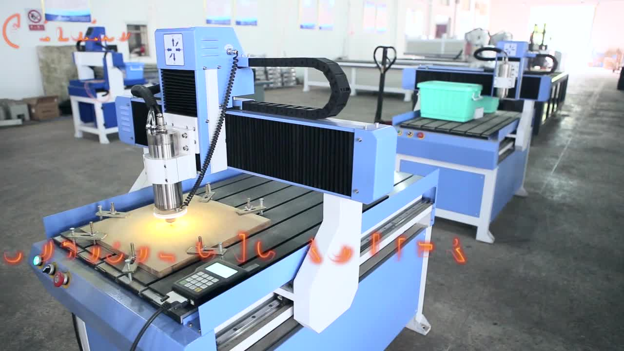 CNC Engraving Router Machine 6090 For Wood PVC Plastic
