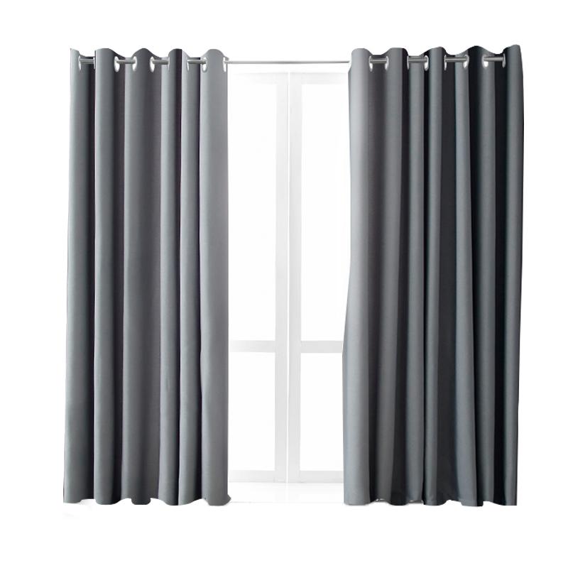 打孔安装卧室2020年新款飘窗全窗帘好用吗