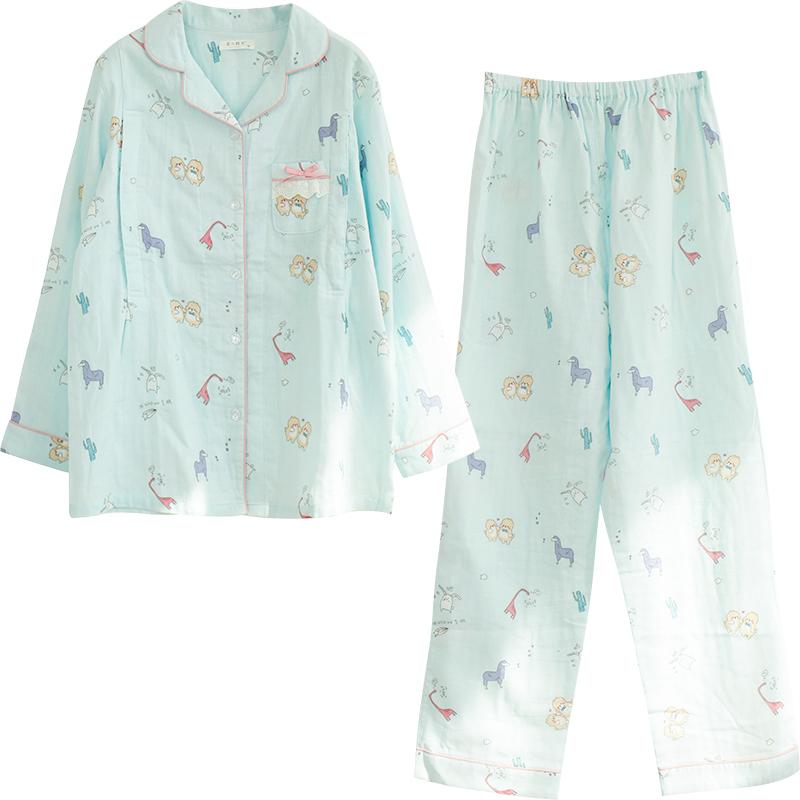 月子服夏薄款产后纯棉纱布4 6睡衣评价好不好