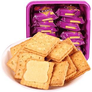 马奇新新马来西亚进口早餐夹心饼干