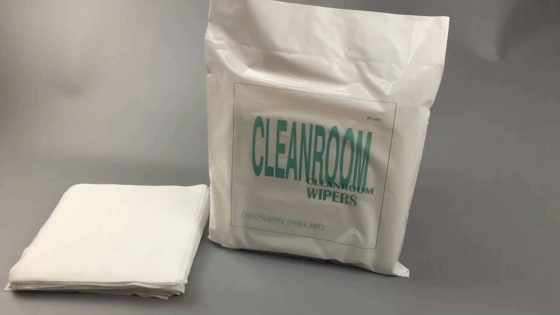 1009DLE Lint Free Cleaning Cleanroom Wiper 100% Polyester