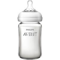 飞利浦新安怡奶瓶新生婴儿宽口径防胀气玻璃奶瓶官方旗舰店SCF678