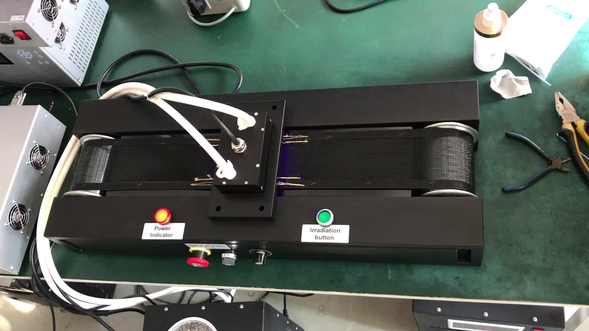 powerful uv led curing system/units led uv curing lamps for silk screen printing machine