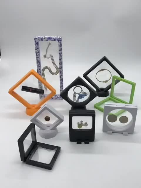 New Design Customized Plastic Box Jewelry Display