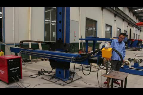 HC3 4X4  Automatic Welding Manipulator For Steel Tank