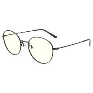 JINS睛姿女士防蓝光辐射25%电脑护目镜金属圆框眼镜FPC18A101