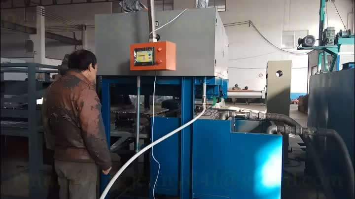 Fully automatic egg tray making machine price egg box forming machinery industrial tray forming machines