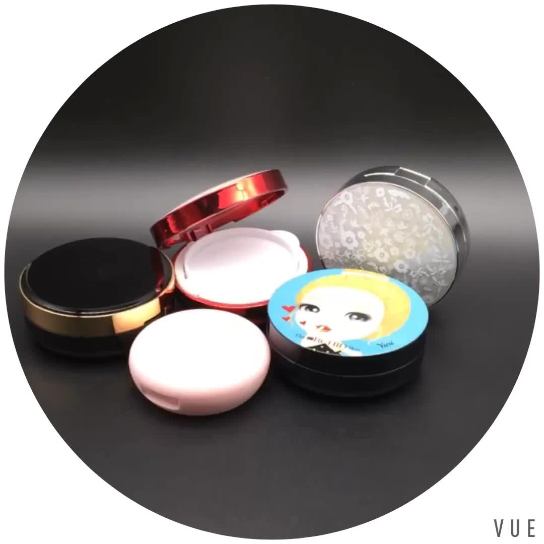 hot selling 15g empty bb / cc beauty Cream loose Air Cushion Compact Powder Case