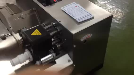 High speed automatic dry ink pouch batch coding machine