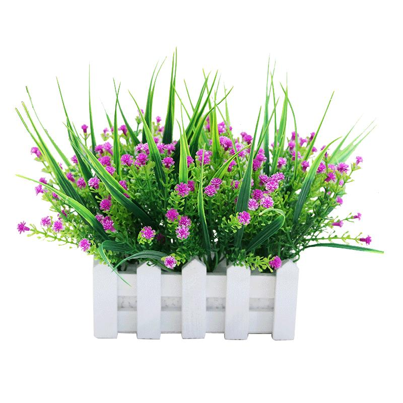 仿真绿植假盆栽绿萝满天星客厅假花性价比高吗