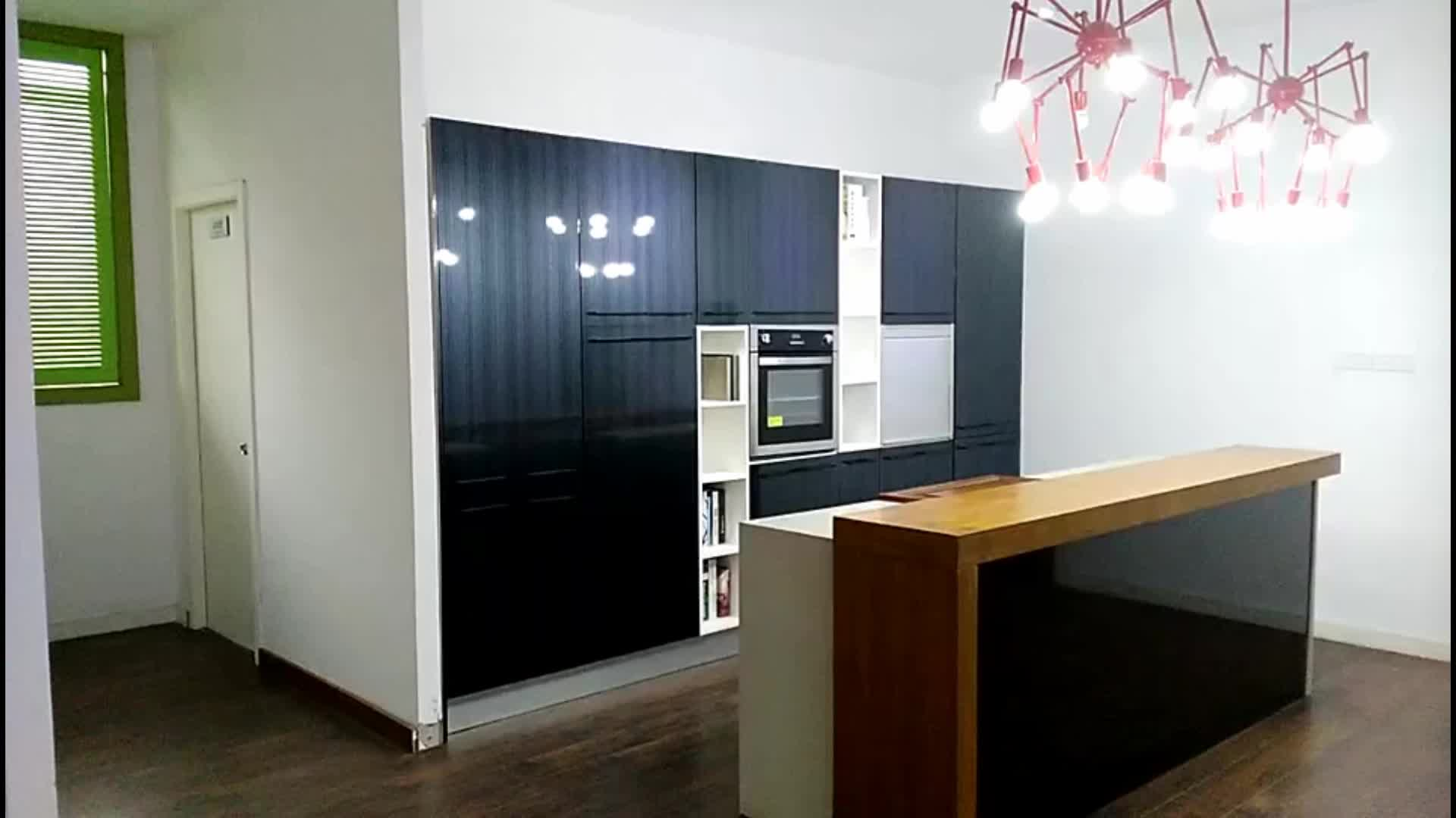 Cheap High Quality Acrylic Size Customized Kitchen Cabinet