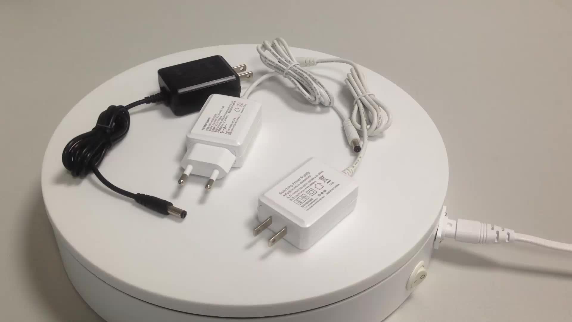 AC DC adattatore 5 v 9 v 12 v adattatore di alimentazione 1.5a 1a 2a con presa EU UK US au