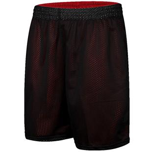 雙面運動短褲男跑步健身運動休閒女大碼過膝五分褲訓練寬鬆籃球褲