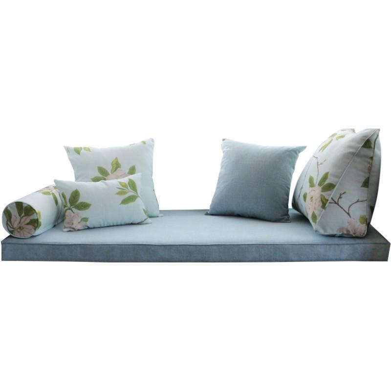 飘窗垫窗台定做卧室垫子四季榻榻米好用吗