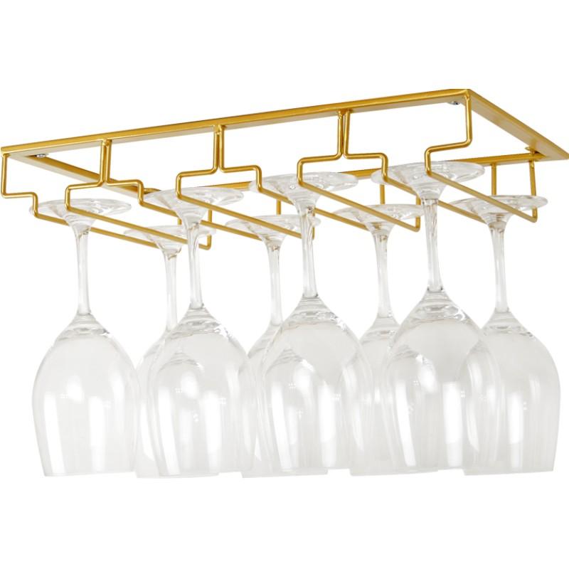 红酒杯架倒挂高脚杯家用酒柜挂架评价如何