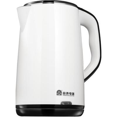 容声电热水壶烧水电热开水壶家用304不锈钢自动断电保温恒温一体