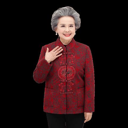 老年人春装60-70岁中老年妈妈春秋
