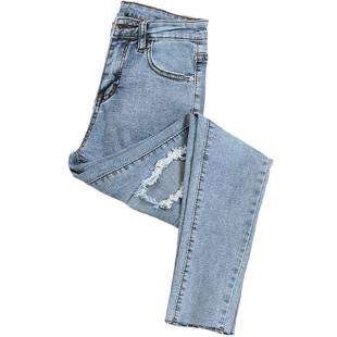 春秋2019新款韩版显瘦网红子牛仔裤可在爱乐优品网领取10元淘宝优惠券