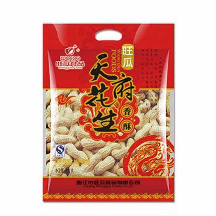 【旺瓜食品-天府花生420g】蒜香花生