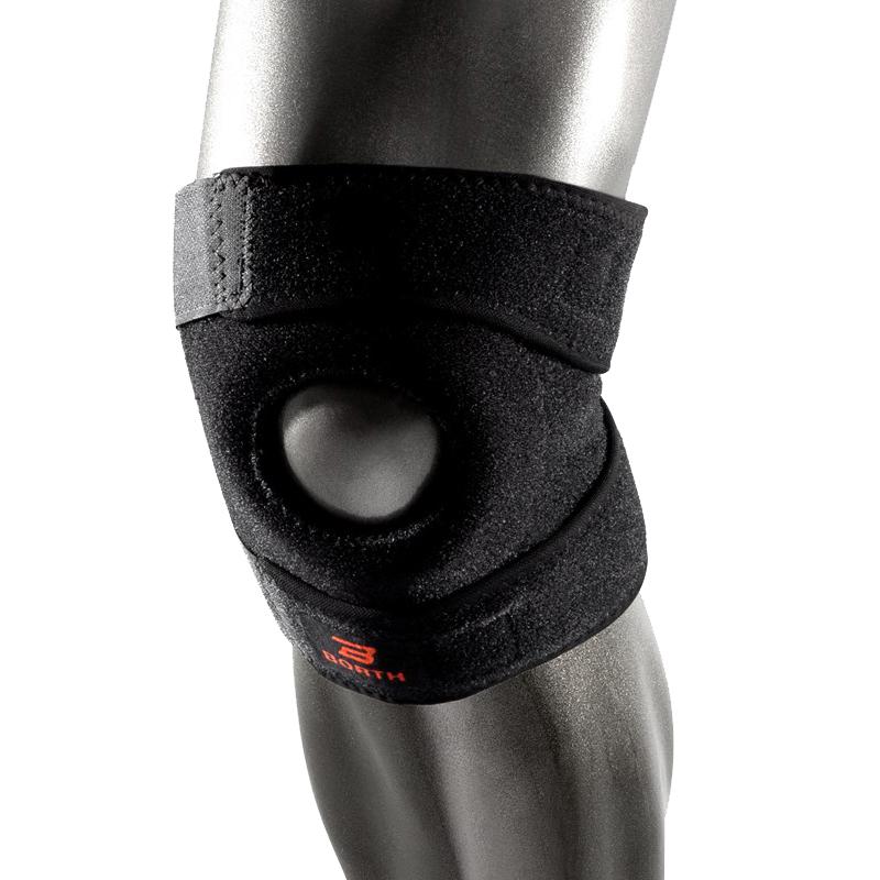 运动护膝半月板损伤男女跑步户外篮球羽毛球骑行专业健身护具秋季