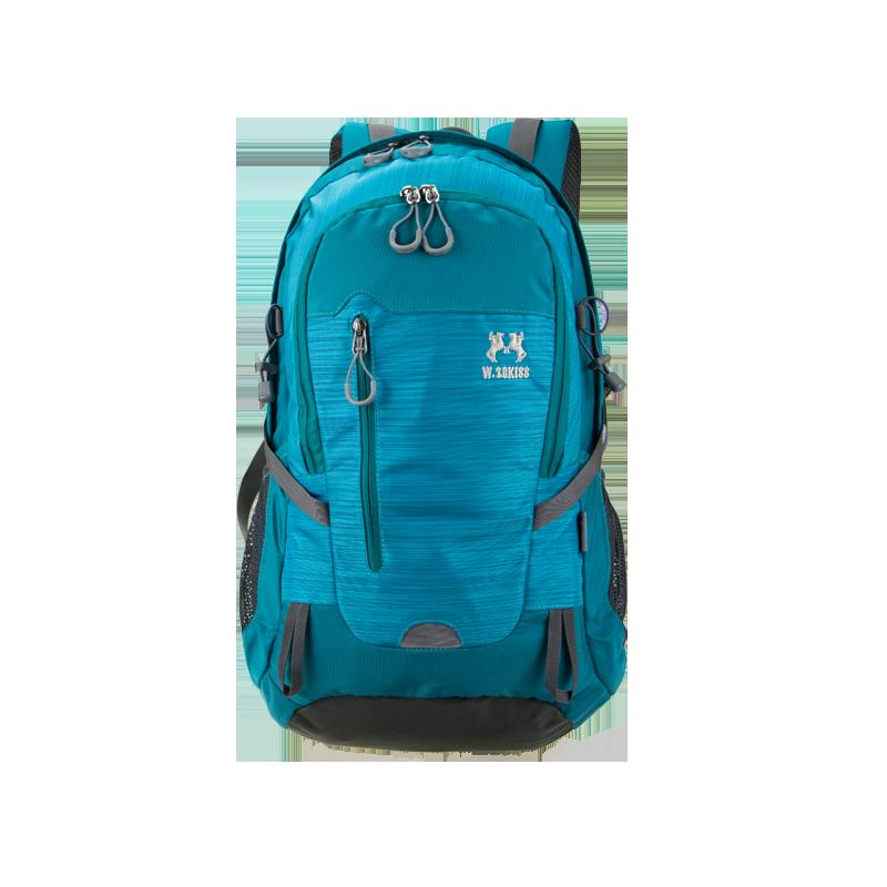五洲格仕旅行双肩包女登山包男大容量徒步包休闲户外防水运动背包