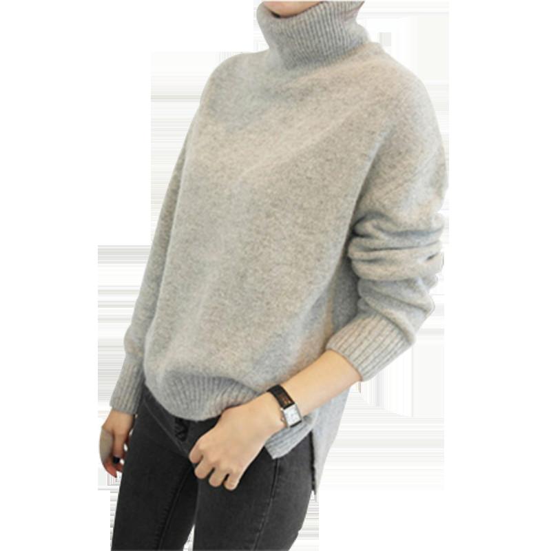 【衣拍就合】网红加厚高领毛衣毛衫